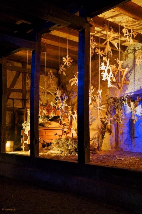 Ecomusee Ungersheim - la grange - Noel DSC02279