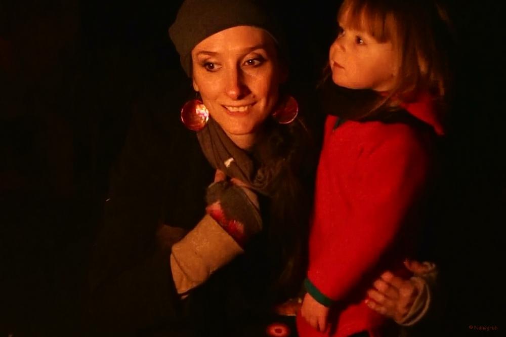Autour du feu - Noel 2014 (1)