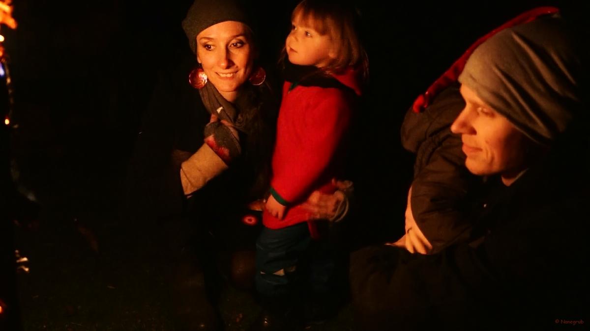 Autour du feu - Noel 2014 (2)