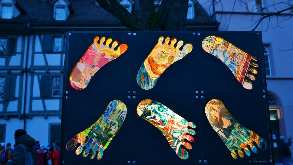 Lanterne - les pieds - Basel - DSC01298