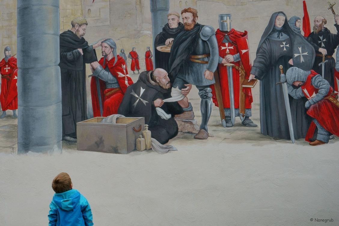 DSC09485 les chevaliers - fresque Soultz